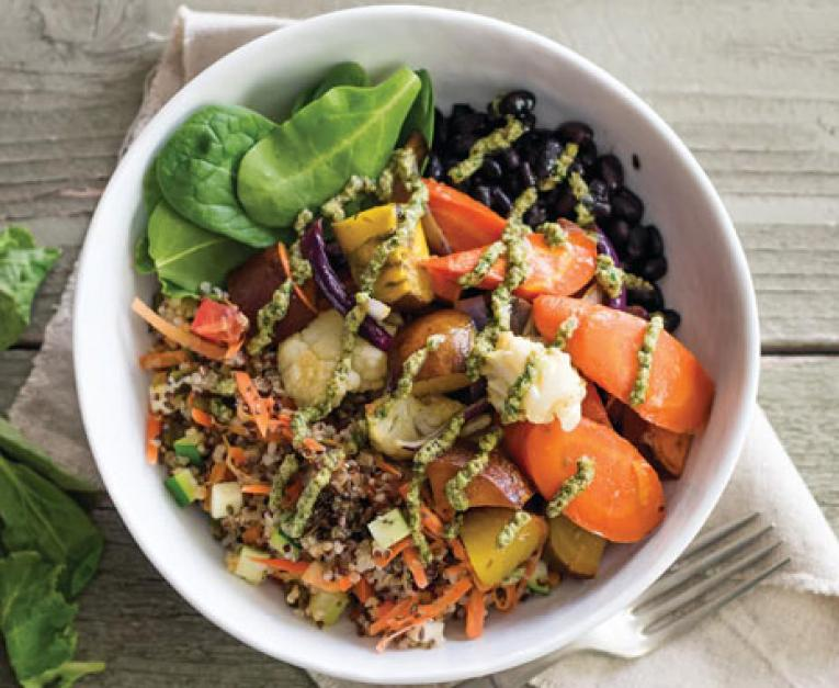 Sharky's Woodfired Mexican Grill Debuts Veggie Bowl
