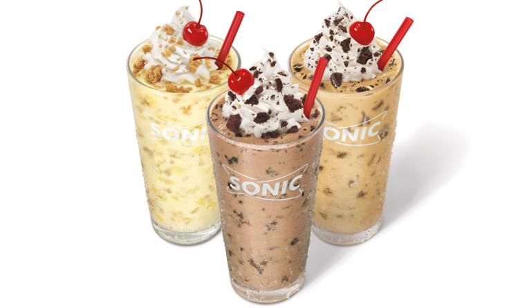 SONIC's new Cookie Jar Shakes are blending the classic all-American combination of creamy ice cream and decadent cookies.