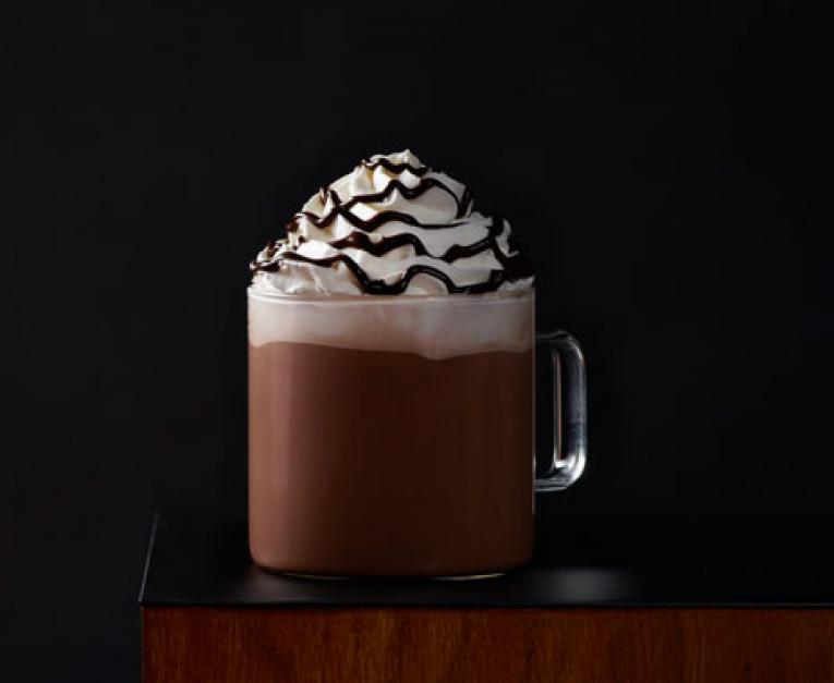 Starbucks' new Toffee Almondmilk Hot Cocoa has arrived.