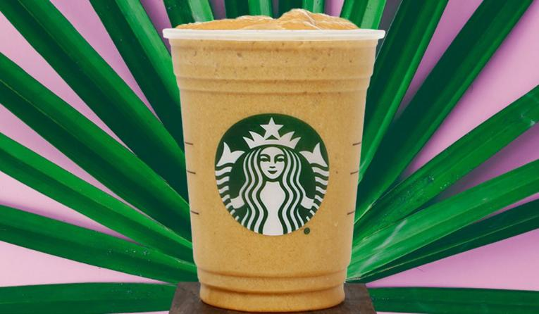 Protein Blended Cold Brew at Starbucks.
