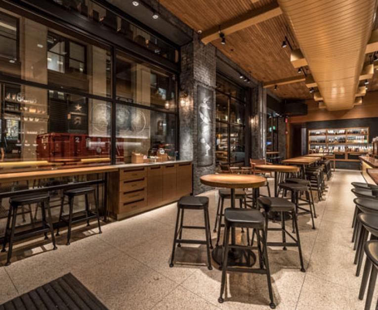 Starbucks Reserve Roastery Debuts In Nyc Restaurant