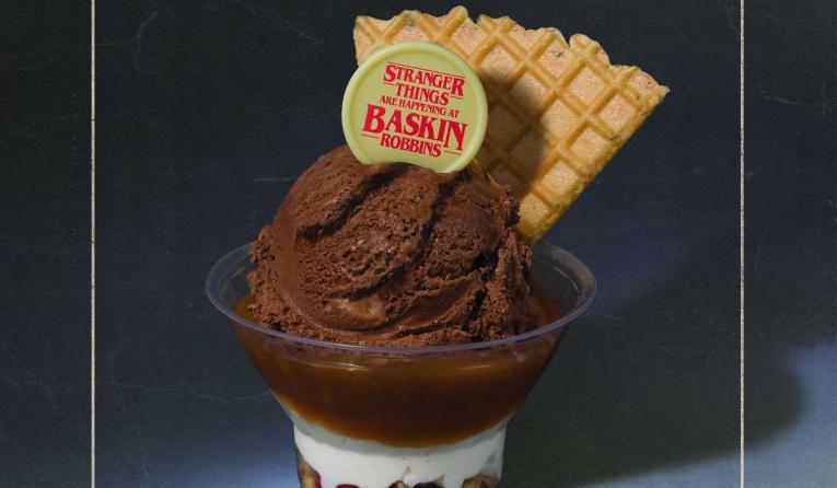 Stranger Things Sundae from Baskin-Robbins