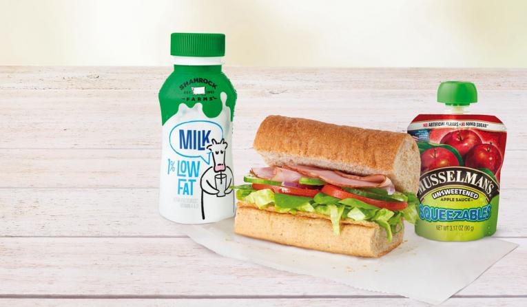 Subway Fresh Fit For Kids Meals.