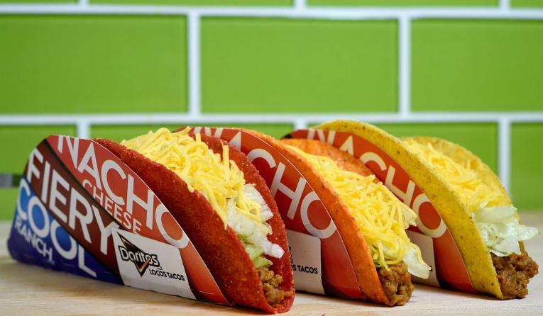 Doritos Locos Tacos at Taco Bell.
