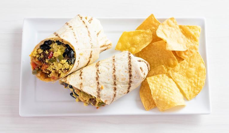 Veggie Grill's new All-Day Breakfast Burrito addresses the consumer demand for all-day breakfast menu items.