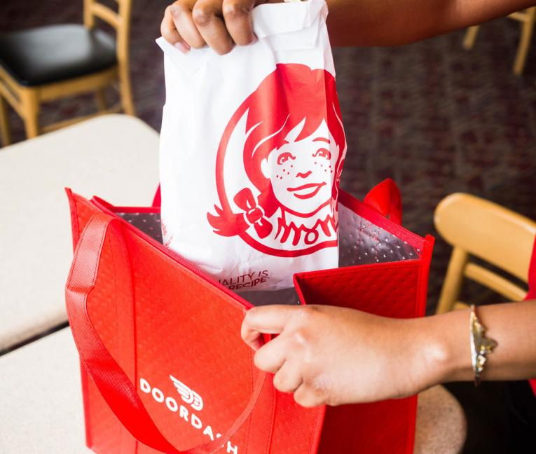 Wendy's partners with DoorDash on national delivery program.