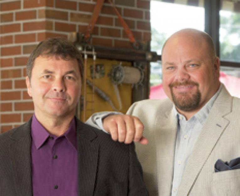 Robin (right) and Chris Sorensen have built Firehouse Subs into a powerful  fast-casual player with no debt.