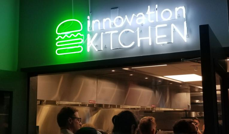 Shake Shack's innovation kitchen.