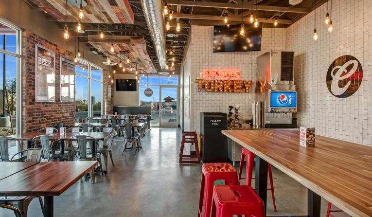 A look inside Capriotti's new store design, which is built for mobile ordering.