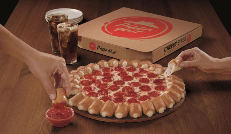 Pizza Hut S Cheesy Bites Pizza Returns For Limited Time