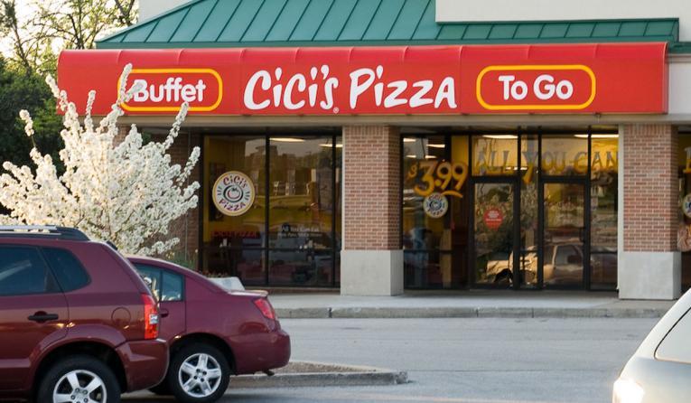 Cicis Pizza restaurant.
