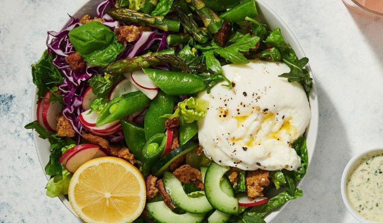 The Green Goddess Salad at Sweetgreen.
