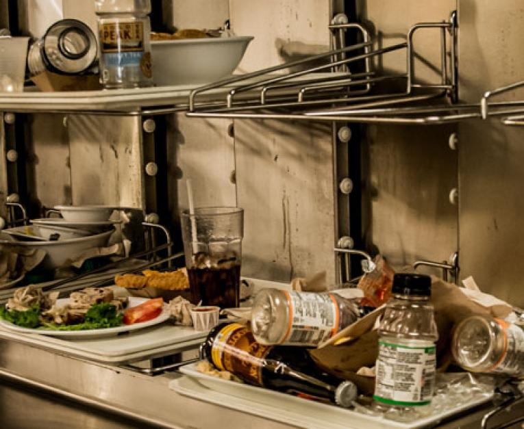 Food waste is a major issue for restaurants.