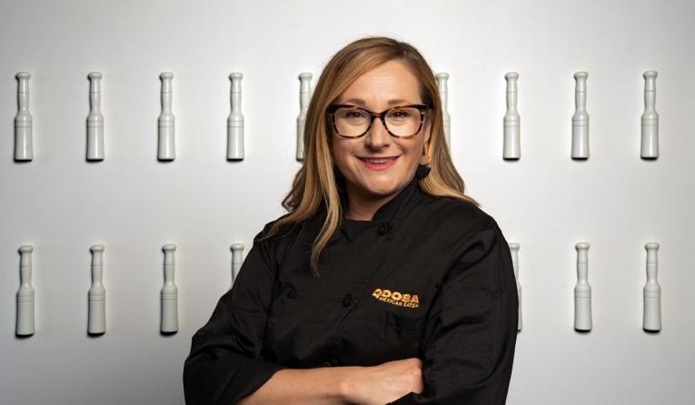 Qdoba Chef Katy Velazquez.