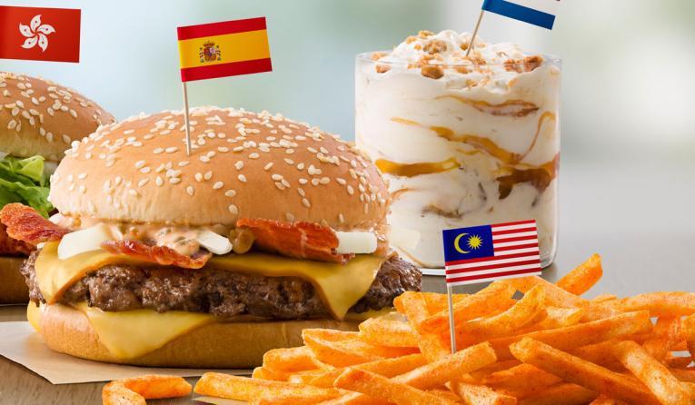 McDonald's Grand McExtreme burger.