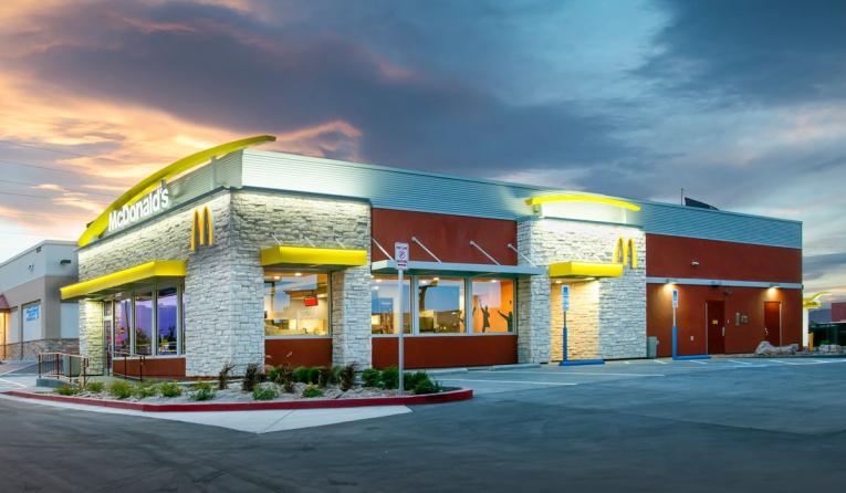 McDonald's is Las Vegas.