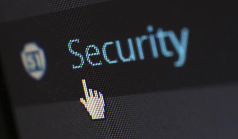 Security screen.