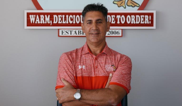 Duck Donuts' founder Russ DiGilio.