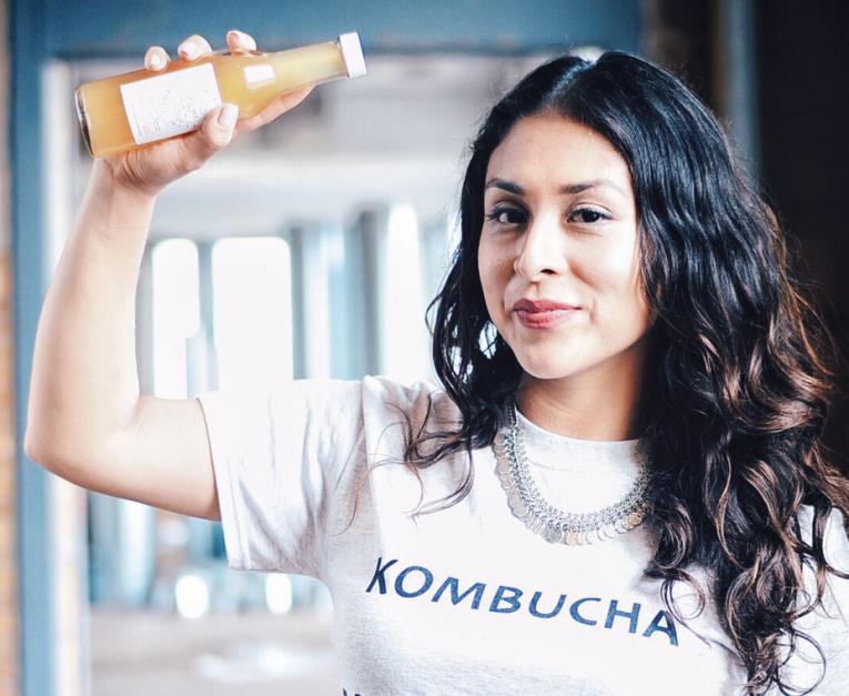 Last November, Olga Marroquin road-tested her kombuchas through the incubator program at Forum 55.