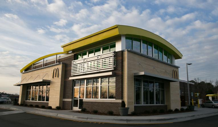 McDonald's in Cary, North Carolina.