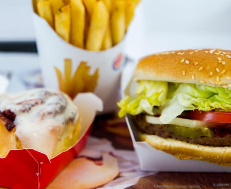 Restaurant sales rebounded in October.
