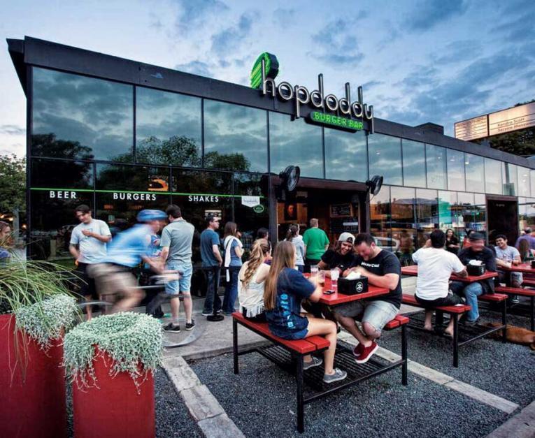 Hopdoddy Burger Bar is winning with marketing.