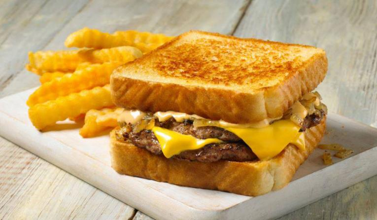 A patty melt with fries at Jack's Family Restaurants.