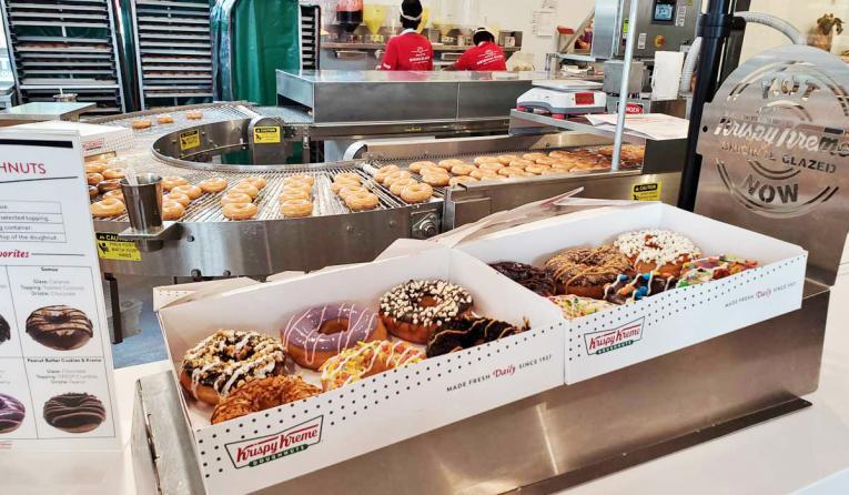 Krispy Kreme custom doughnuts