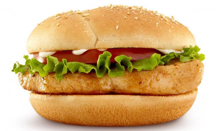 McDonald's Premium Grilled Chicken Classic Sandwich.