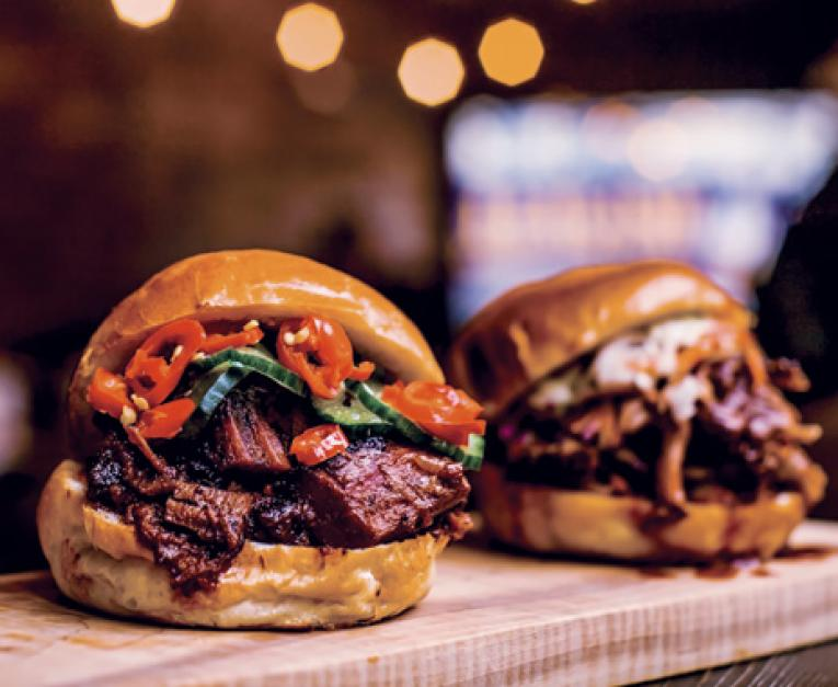 New York Bbq Fast Casual Restaurant Dishes High Quality