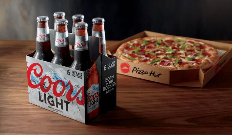 Pizza Hut S Beer Delivery Test Expands To Nearly 100 Restaurants Qsr Magazine