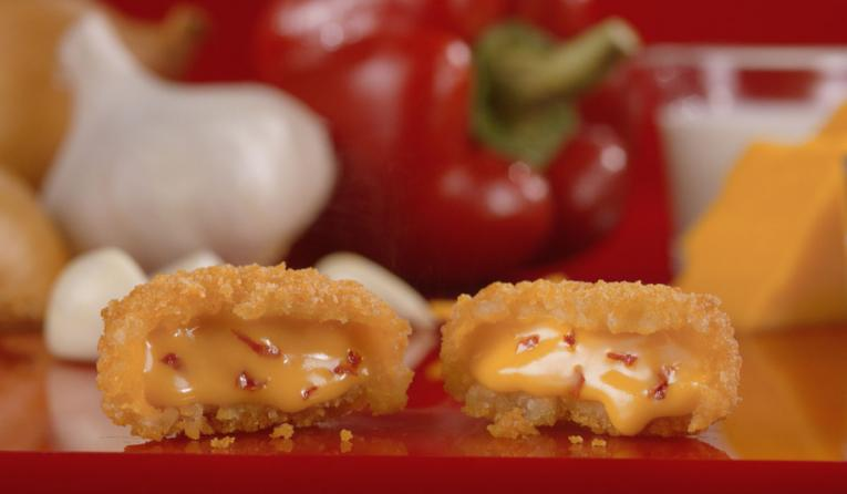 Pimento Cheese Bites at Krystal.