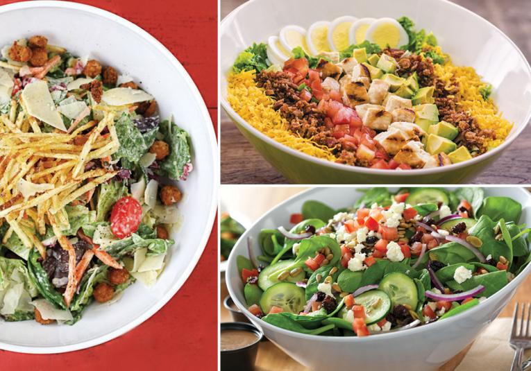 Premium Salads—The Secret Sauce for Better-Burger Brands