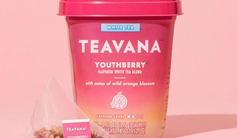 Starbucks' Teavana packaged teas.