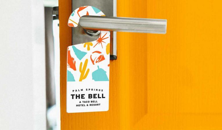 Taco Bell Hotel Door Hanger
