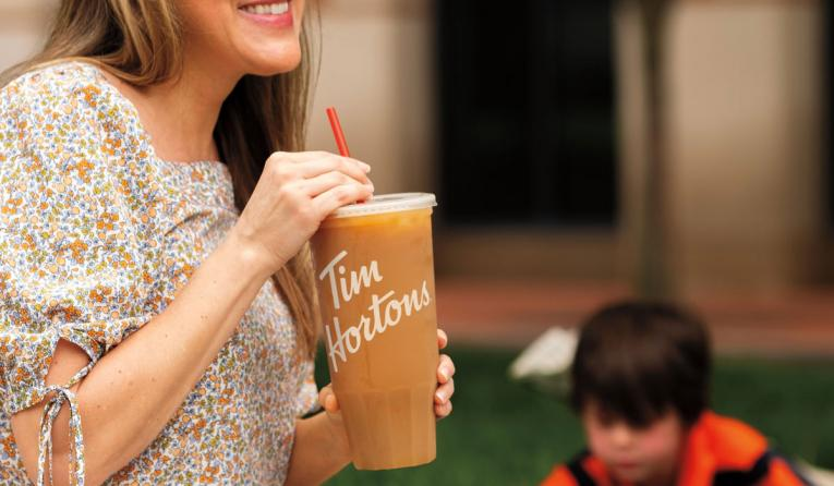 Tim Hortons Offering Free 52-Ounce 'Mom