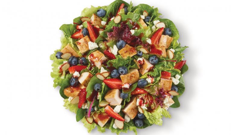 Wendy's summer salad.