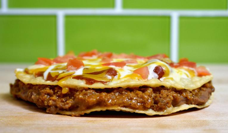 Taco Bell Mexican Pizza.