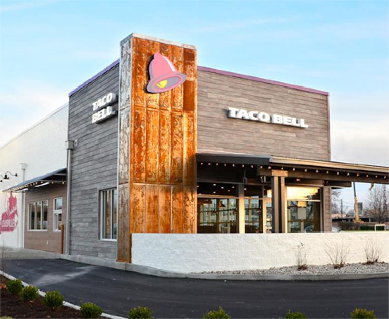 Taco Bell Building Inside