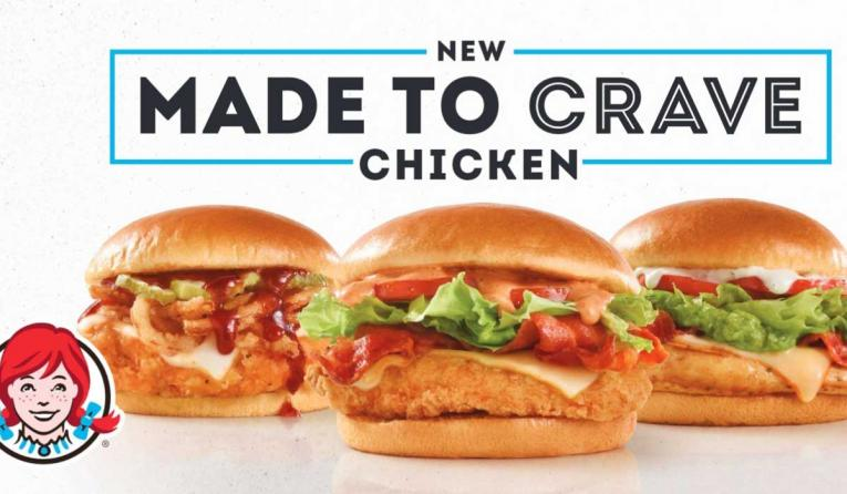 Wendy's Made to Crave Chicken Sandwiches