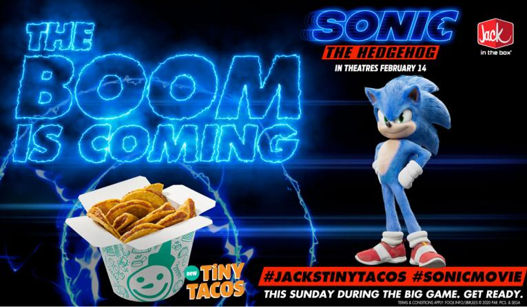 Jack in the Box and Sonic ad.