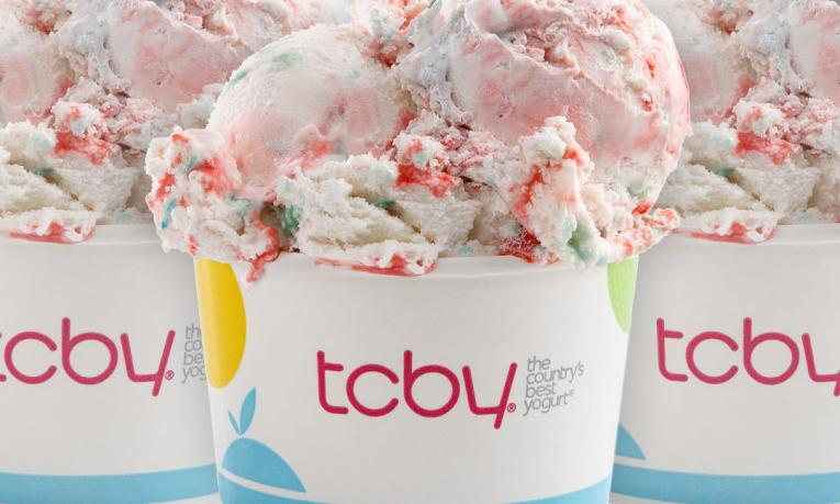 TCBY's frozen yogurt will be free on February 6.