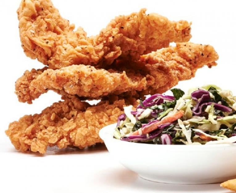 California Fried Chicken Fast Casual Restaurant Improves Food