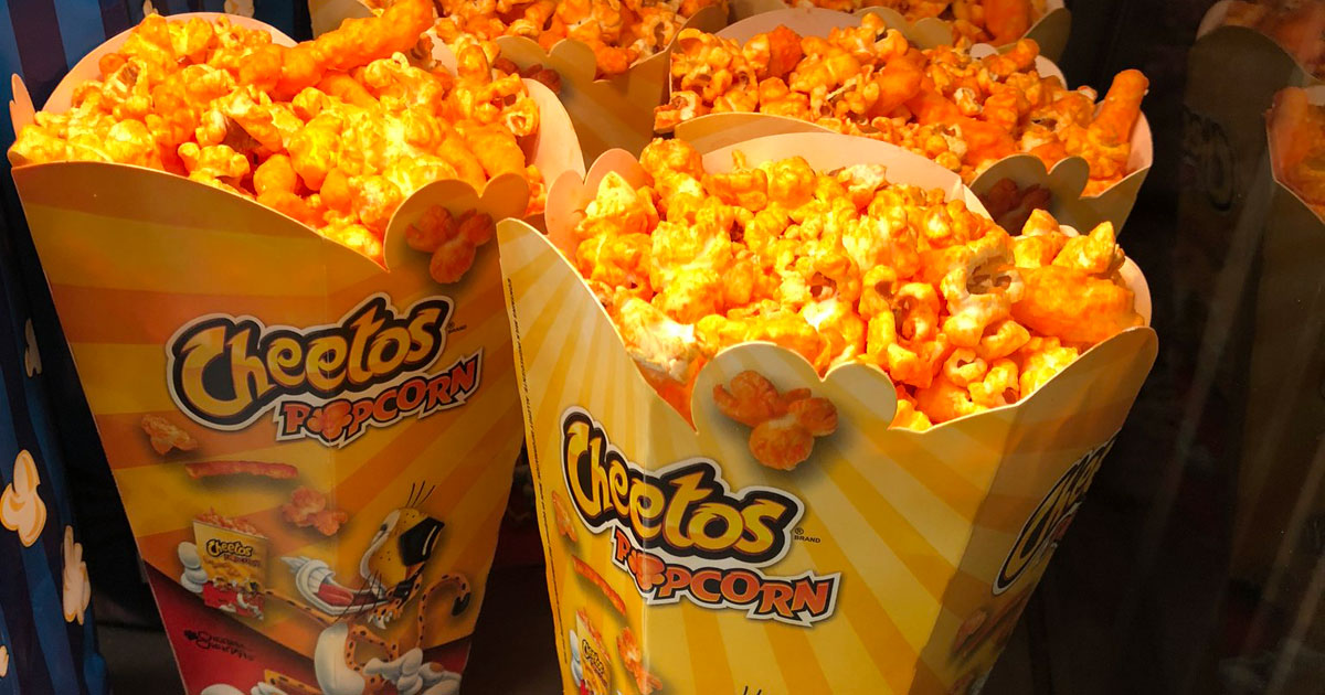 cheetos popcorn coming to regal cinemas everywhere restaurant news qsr magazine. Black Bedroom Furniture Sets. Home Design Ideas