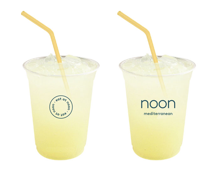 Noon shows off its new branding.