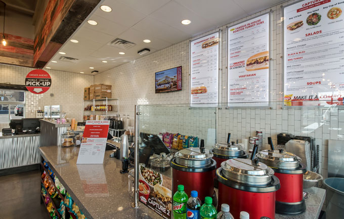 Capriotti's new store design is built for the mobile user.