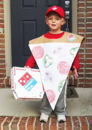 ... idea for a homemade Halloween costume a slice of pizza.  sc 1 st  QSR magazine & Need a Halloween Costume? Dominou0027s Has Your Back - Restaurant News ...