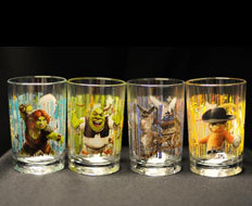 McDonald's recalled the Shrek Forever After glassware after discovering that the