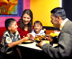 El Pollo Loco is part of the NRA Kids LiveWell program.