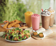 Burger King debuted several menu innovations to compete with McDonald's.